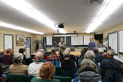 Rep. Ackert held a town hall for constituents in Coventry to discuss the 2019 legislative session
