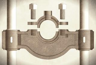 CI Bearing Bracket vintage | by Dave_R_