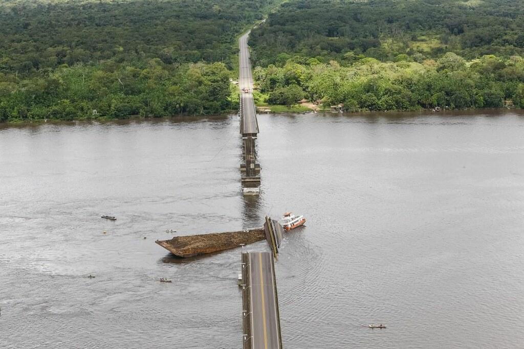 Justiça bloqueia bens de 6 empresas envolvidas na queda de ponte da Alça Viária, ponte