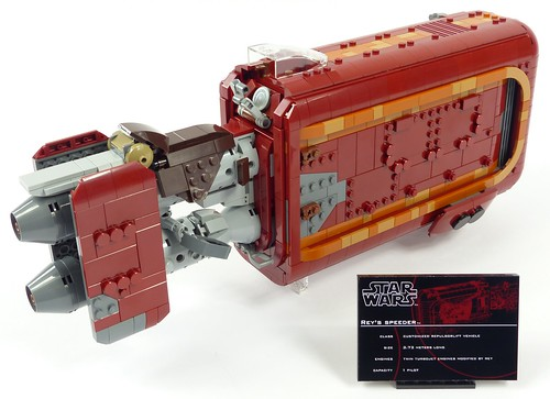 UCS Rey's Speeder   by Aniomylone