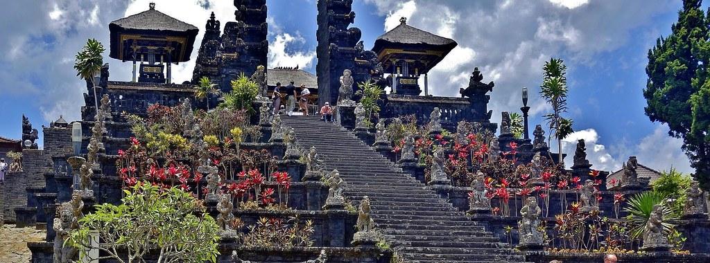 INDONESIEN, Bali , Rund um den Muttertempel Pura Besakih an der Flanke des Vulkans Agung(3142 m ), 17982/11211