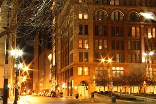 Locust   by Building St. Louis