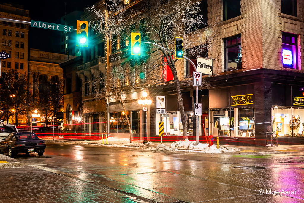 Winnipeg at night...   Alfa Photography Winnipeg, MB 2019031…   Moe Asrar  Canada   Flickr