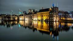 Netherland - DEN HAAG - evening-city-light