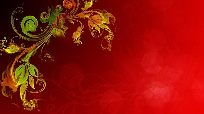 Обои огонь, эффект, фон, растение, блики картинки на рабочий стол, фото скачать бесплатно