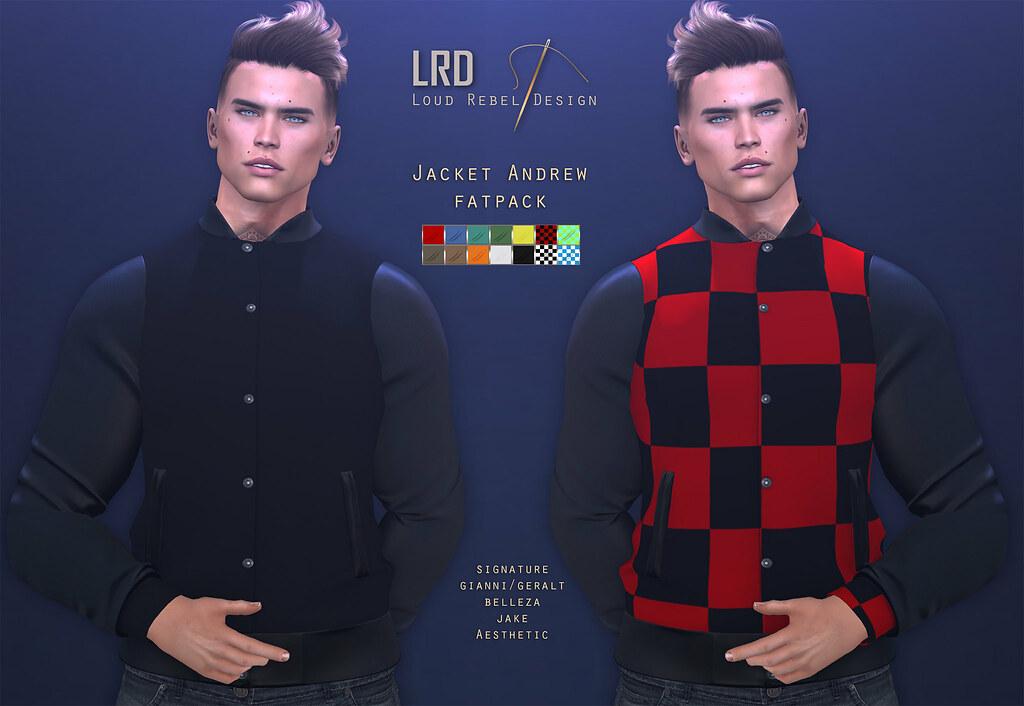 LRD Jacket Andrew Fatpack - TeleportHub.com Live!