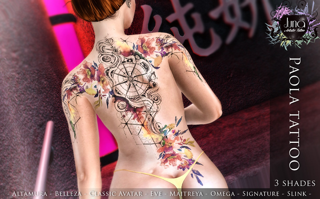 Paola tattoo - TeleportHub.com Live!