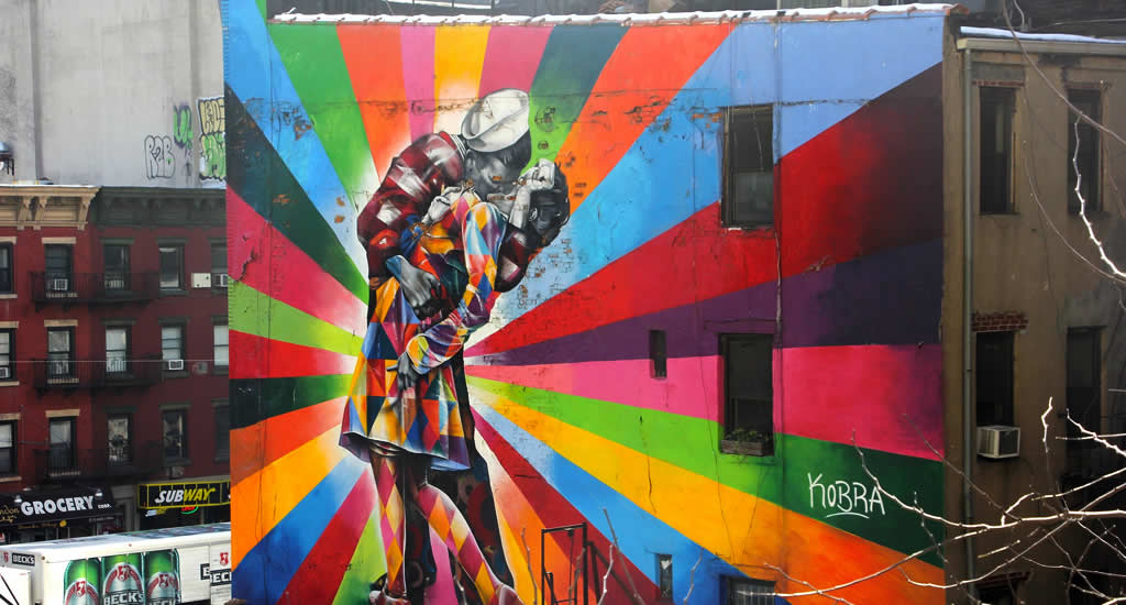 Gratis street art tour in New York | Mooistestedentrips.nl