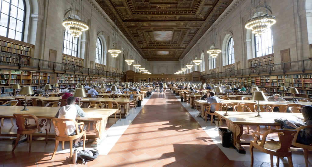 New York Public Library (foto door Will Steacy) | Mooistestedentrips.nl