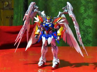 Custom Gundam Wing Zero   by Halconfenix
