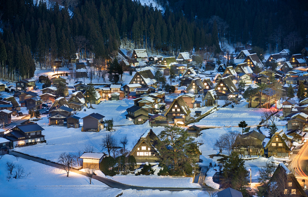 Shirakawa-go from Above