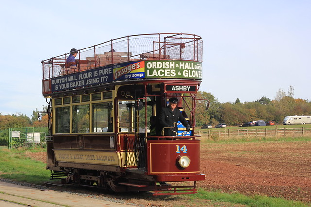 Vintage Tram, Statfold Barn Railway, UK.