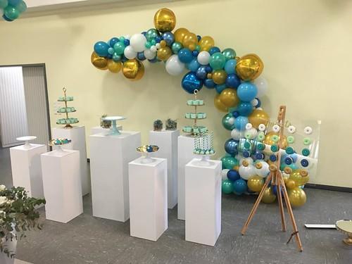 Organic ballonnen half boog | by BallondecoNL
