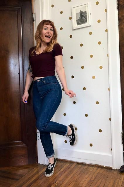 Megan Nielsen Dawn Jeans