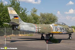 D-9542---1740---German-Air-Force---Canadair-CL-13B-Sabre-6-F-86---Gatow-Berlin---180530---Steven-Gray---IMG_8562-watermarked