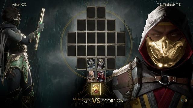 Jade VS Scorp