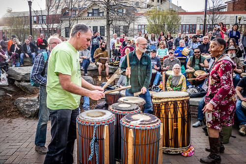 Asheville Drum Circle-46 | by RandomConnections