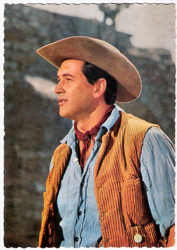Rock Hudson in The Last Sunset (1961)