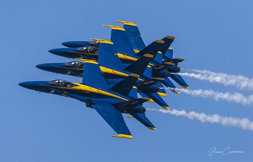 Blue Angels Formation 4