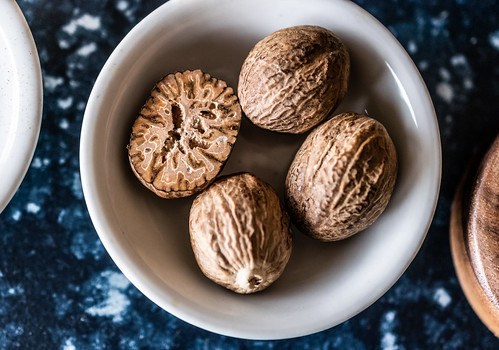 freshly-grated nutmeg is far more aromatic and flavorful than pre-ground   by Husbands That Cook