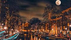 AMSTERDAM - Kracht, Snow, Night