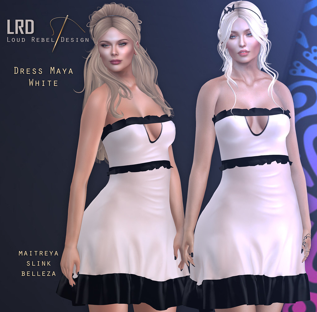 LRD Dress Maya white - TeleportHub.com Live!