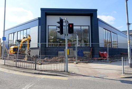 New cafe at The Range under construction in Preston | by Tony Worrall