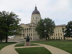 20170807 54 Kansas State Capitol Bldg., Topeka, Kansas