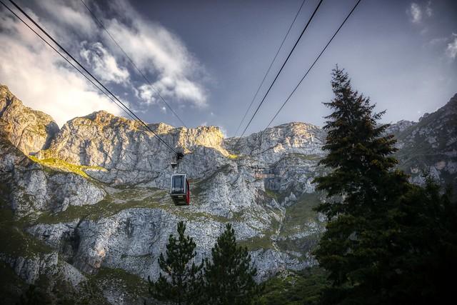 Teleférico de Fuente De ( Picos de Europa - Cantabria)
