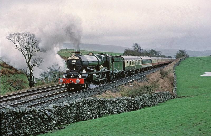 6024 King Edward 1 at Horton 2 on 7/3/1998 Copyright David Price No unauthorised use