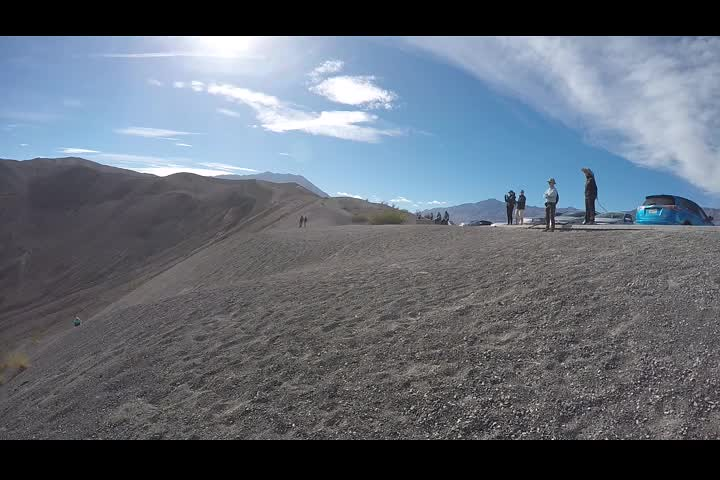 0498 GoPro panorama video of Ubehebe Crater