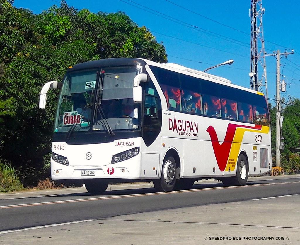 Still on the previous font type (Dagupan Bus Co  Inc  #841