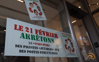 21-02-19 : Grève RTBF - NAMUR/RHISNES   by IRW CGSP
