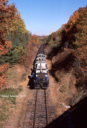 robert tokarcik west virginia northern wvn railroad railways trains locomotives wv tunnelton emd nw2 sw1200 dynamic brake