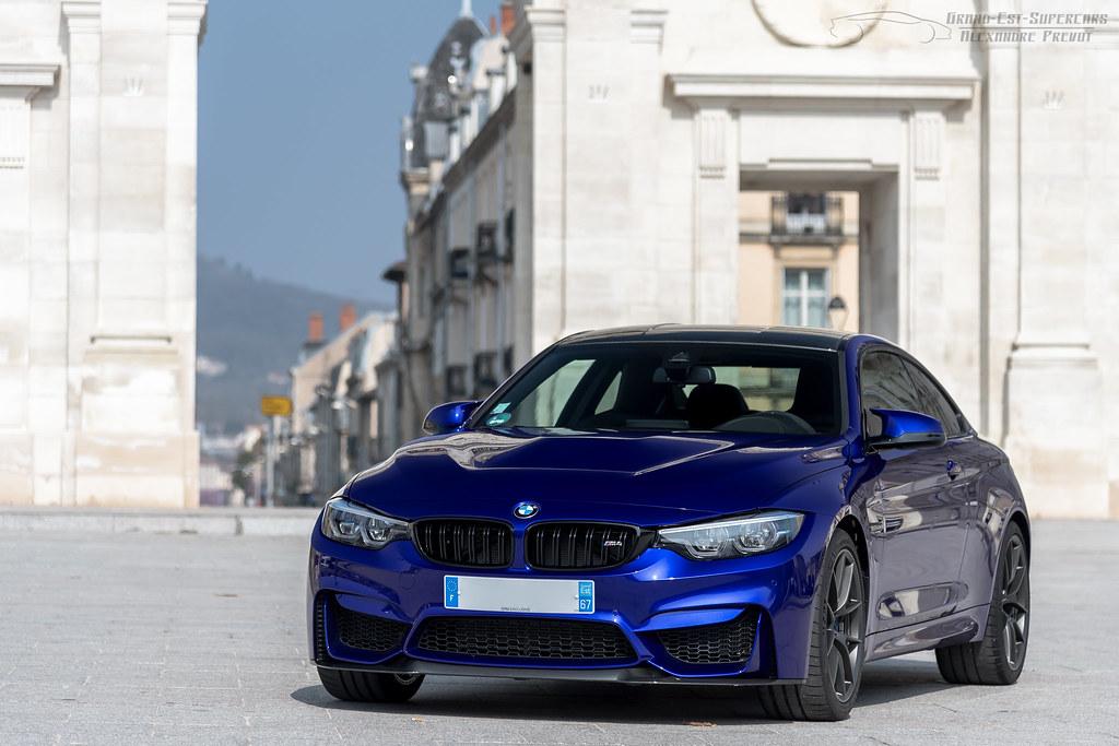 Bmw M4 Coupe Cs Couleur San Marino Blue Www Grand Est Su