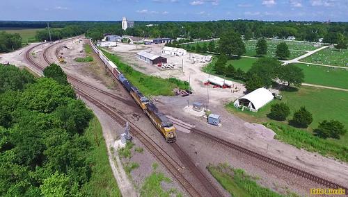 uprr unionpacific trains railroads dronephoto
