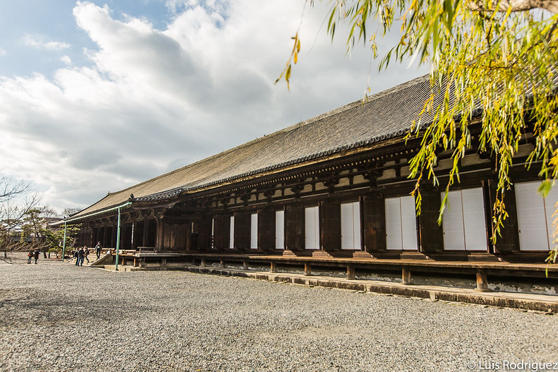 Salón principal visto desde el exterior