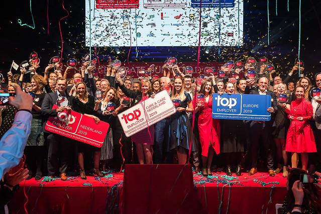 Top Employers Nederland Certification Dinner 2019