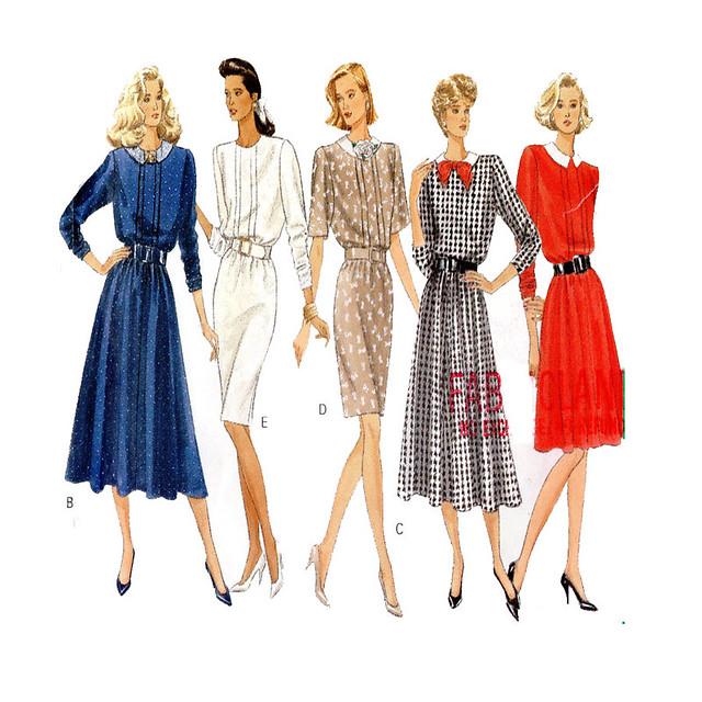 Butterick 6691 Day Dress Pattern