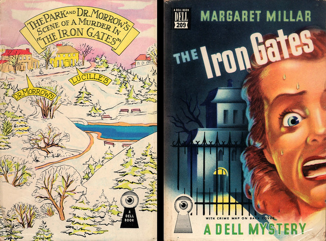 Dell Books 209 - Margaret Millar - The Iron Gates (with mapback)