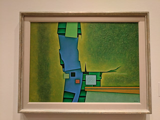 Ochre-Green-Blue by Gunther Gerzso | by tlkativ