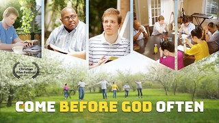 """""""Come before God often"""""""