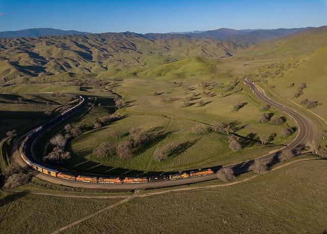 BNSF 7750 (ES44DC) Bealville, California