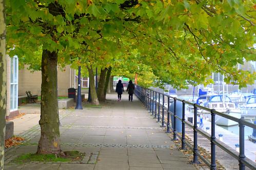 Walkway at Preston Docks | by Tony Worrall