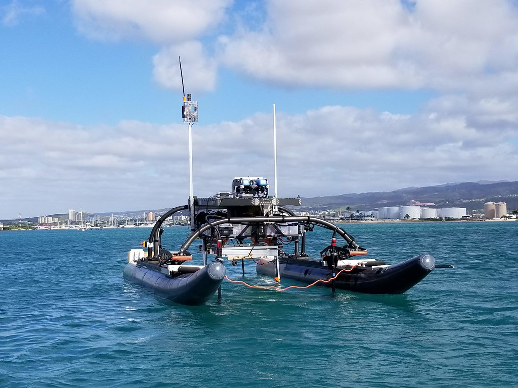 BlueROV Launch+Recovery System Testing - February - May 2018