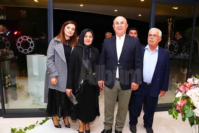 Ahmet Çavuşoğlu ve ailesi.