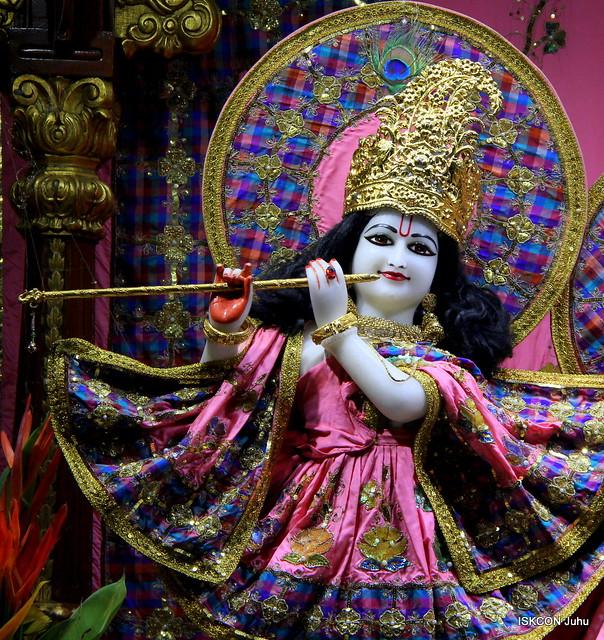 ISKCON Juhu Mangal Deity Darshan on 9th Apr 2019
