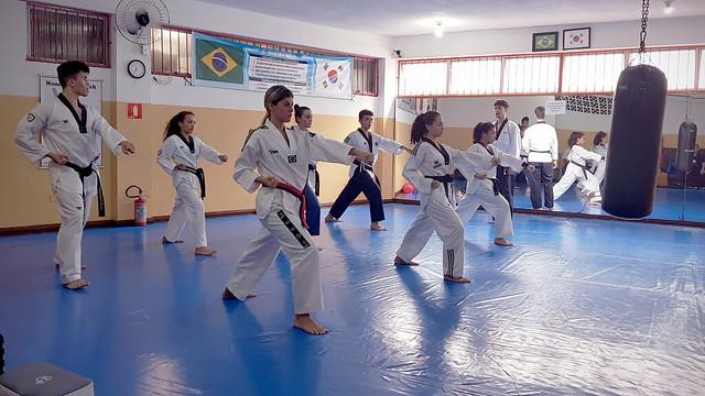 Treino de Poom-se Intensivo da Seleção Paulista de Escolares