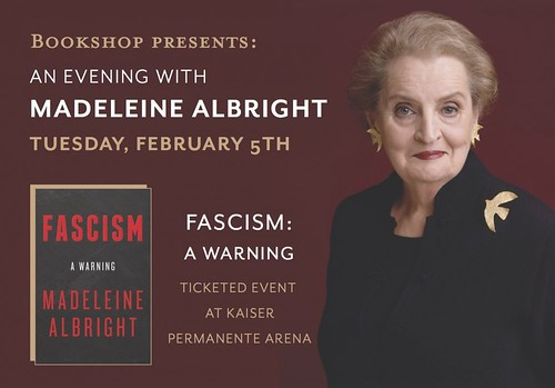 An Evening with Madeleine Albright 2.5.2019