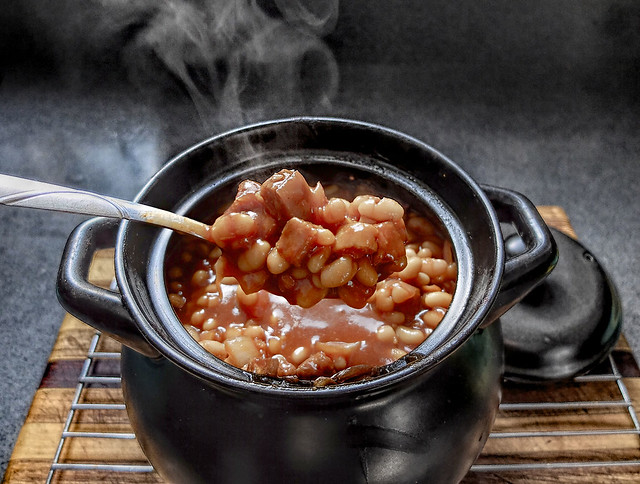 Vegetarian Southern Baked Beans